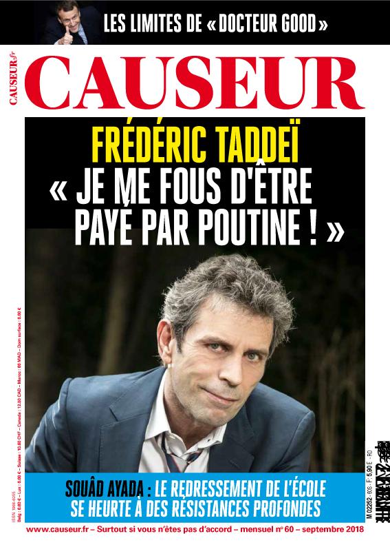Septembre 2018 - Causeur #60