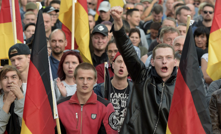 Chemnitz: des pseudo-nazis ouverts au dialogue