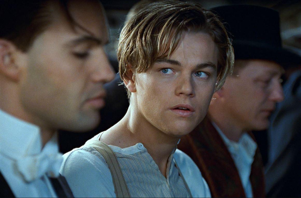 """Léonardo Di Caprio dans """"Titanic"""" de James Cameron (1997)"""
