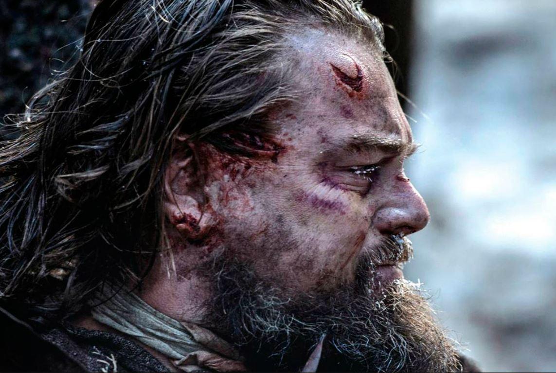 "Léonardo Di Caprio dans ""The Revenant"" d'Alejandro González Iñárritu ("