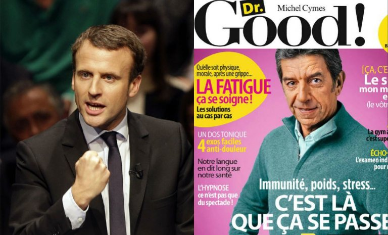 Emmanuel Macron, le Michel Cymès de la politique