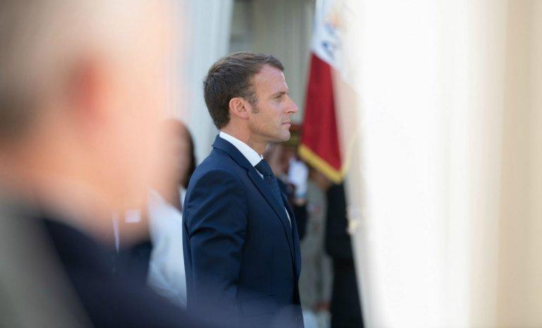 Pour Macron, le terrorisme c'est du passé