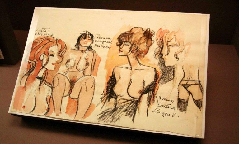Pratt, Crepax, Manara et Giardino, princes de la BD érotique