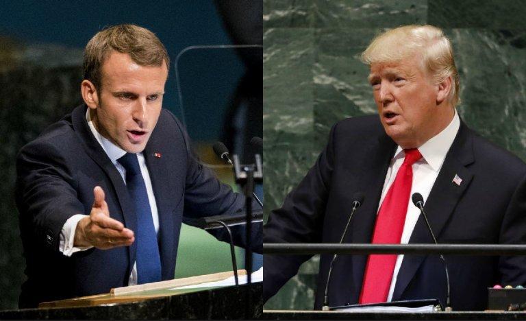 Trump pose les bonnes questions, Macron donne les mauvaises réponses