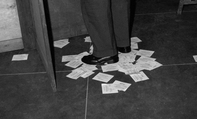 60 ans de la Ve République: et le referendum, on l'oublie?