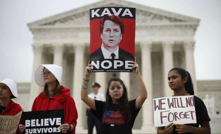 """Brett Kavanaugh: """"l'accusation"""", une condamnation médiatique"""
