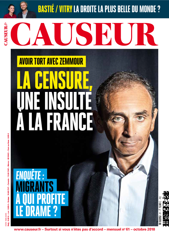 Octobre 2018 - Causeur #61