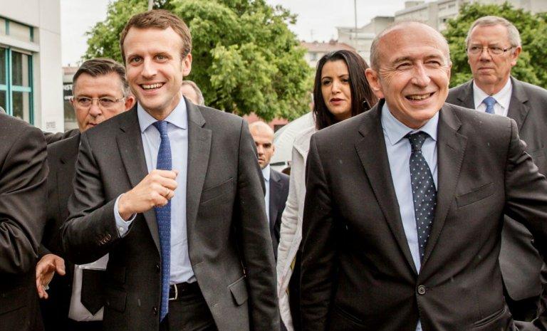 Démission de Collomb: Macron avait raison, il suffisait de traverser la rue