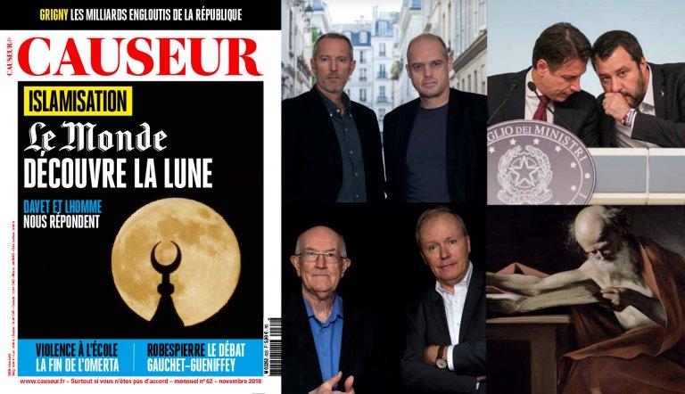 Islamisation: « Le Monde » découvre la lune!