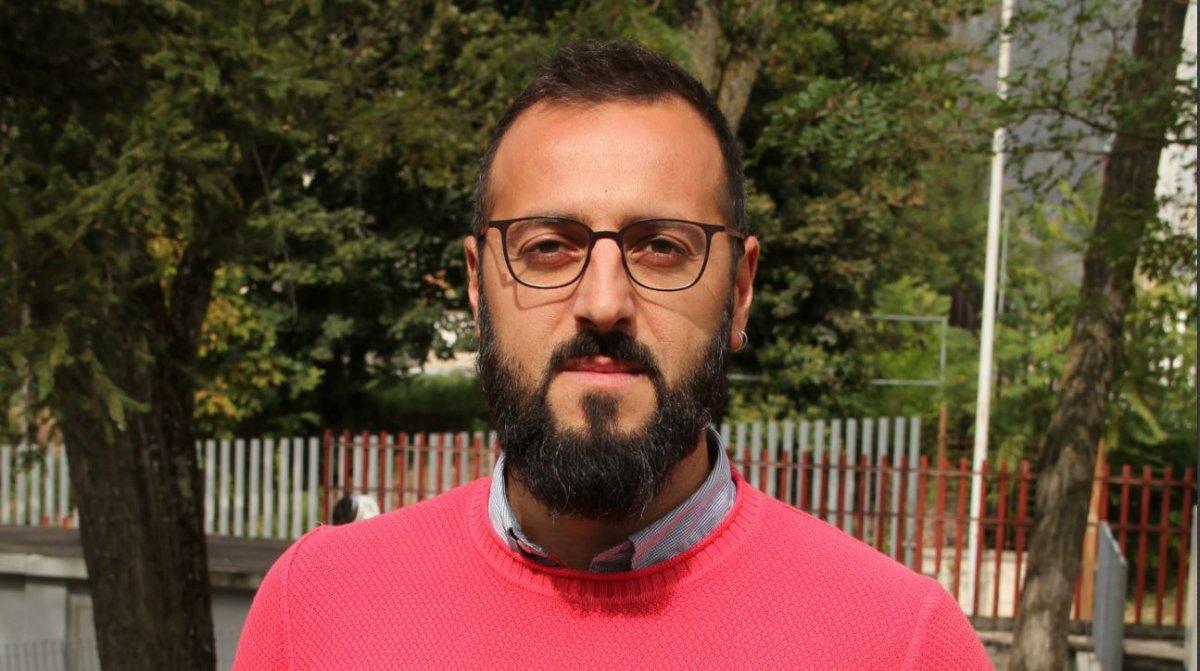 Fabrizio Taranta, conseiller municipal Lega, L'Aquila. Photo : Daoud B.