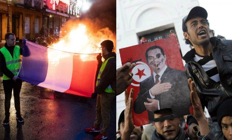 Non, les gilets jaunes ne font pas le printemps arabe