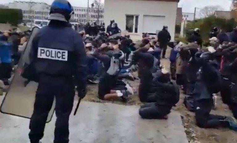 Lycéens de Mantes-la-Jolie: l'opération interpelle aussi le droit