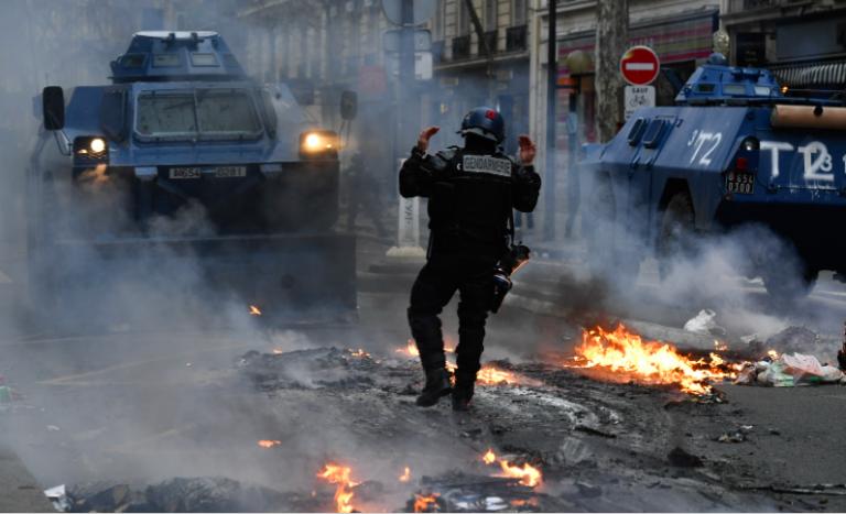 La violence policière est légitime