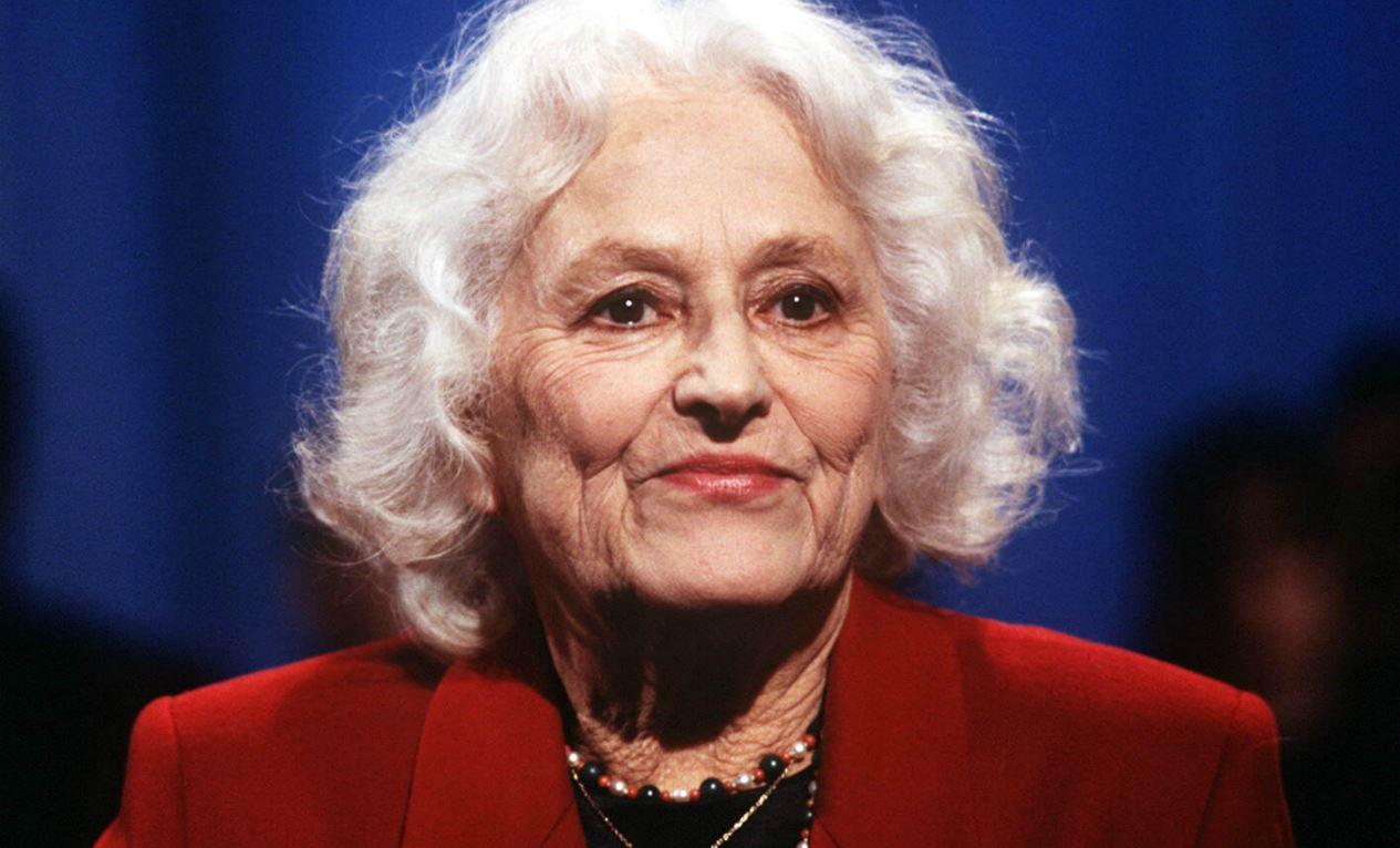 Christine de Rivoyre en 1995. SIPA. 00258077_000002