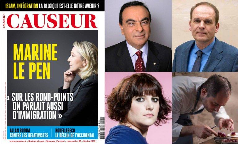 """Marine Le Pen: """"Sur les ronds-points, on parlait aussi d'immigration"""""""