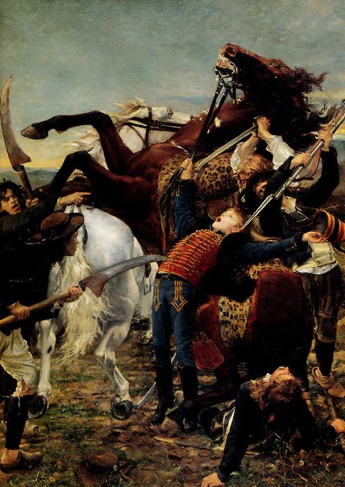 """Mort de Bara en 1793"", Jean-Joseph Weerts, musée d'Orsay. Domaine public."