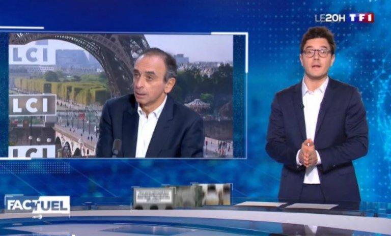 """Zemmour et les élèves juifs du 93: le """"fact-checking"""" foireux de TF1"""
