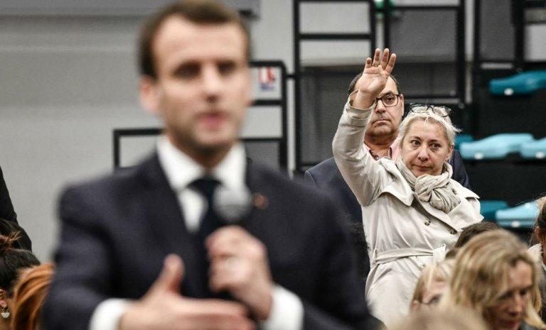 Le grand débat, un coup d'Etat permanent