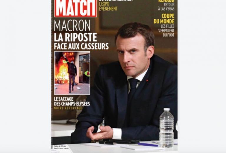 Macron à la une de Paris Match: faites le méchant, Monsieur le président!