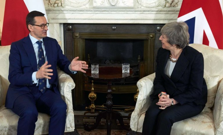 Un Brexit sans accord? Les Polonais sont d'accord!