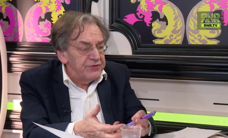 """Alain Finkielkraut: """"Le progressisme: un thé dansant à bord du Titanic"""""""