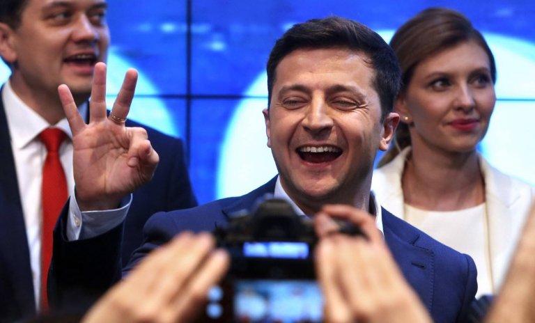 Élection de Zelensky: une chance pour l'Ukraine et pour la véritable Europe
