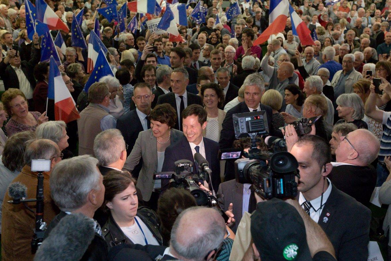 François-Xavier Bellamy à Besançon, 11 mai 2019. ©JC Tardivon/SIPA / 00907354_000018