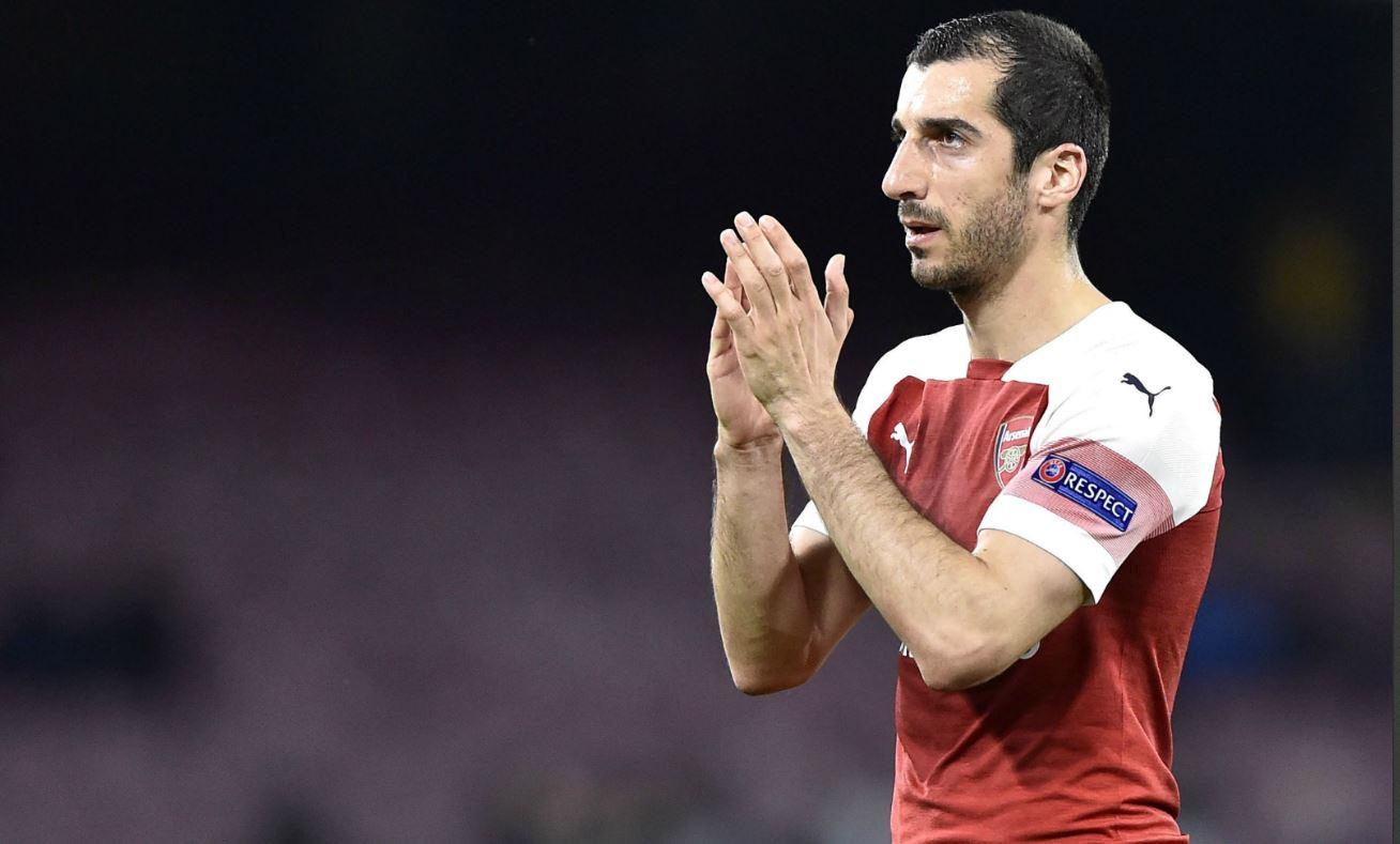 Europa League - Arsenal : Mkhitaryan peut jouer selon l'Azerbaïdjan
