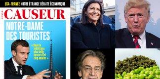 Notre-Dame de Paris / Finkielkraut / Hidalgo / Trump / Petits Pois