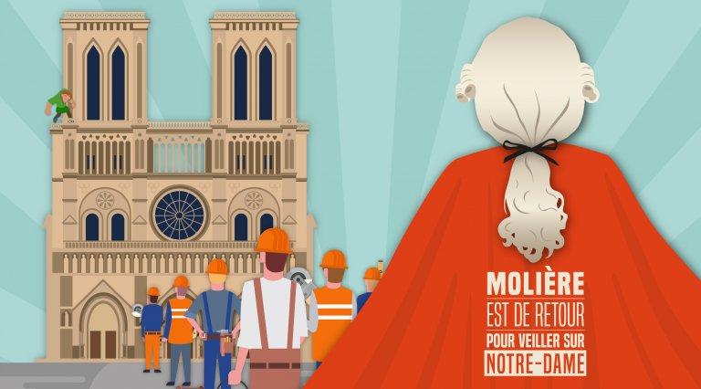 Reconstruisons Notre-Dame avec des ouvriers francophones