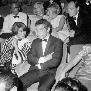 Karmitz et Macha Méril, à la Mostra de Venise 1966. Photo: Archivio Arici/Leemage