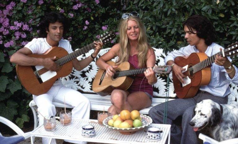 Brigitte Bardot, sous le soleil tropézien exactement