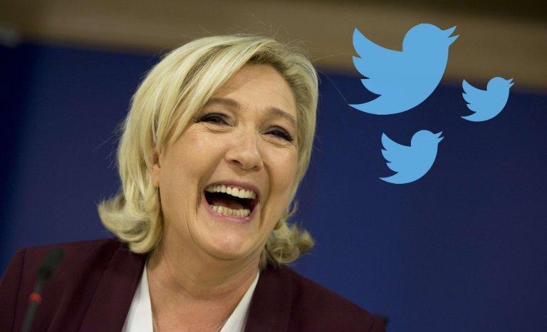 Marine Le Pen renvoyée en correctionnelle pour… avoir tweeté!