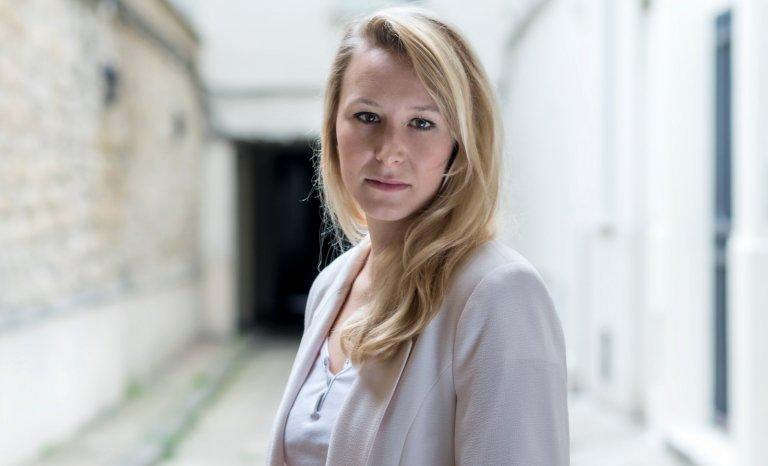 Marion Maréchal en réserve de la droite