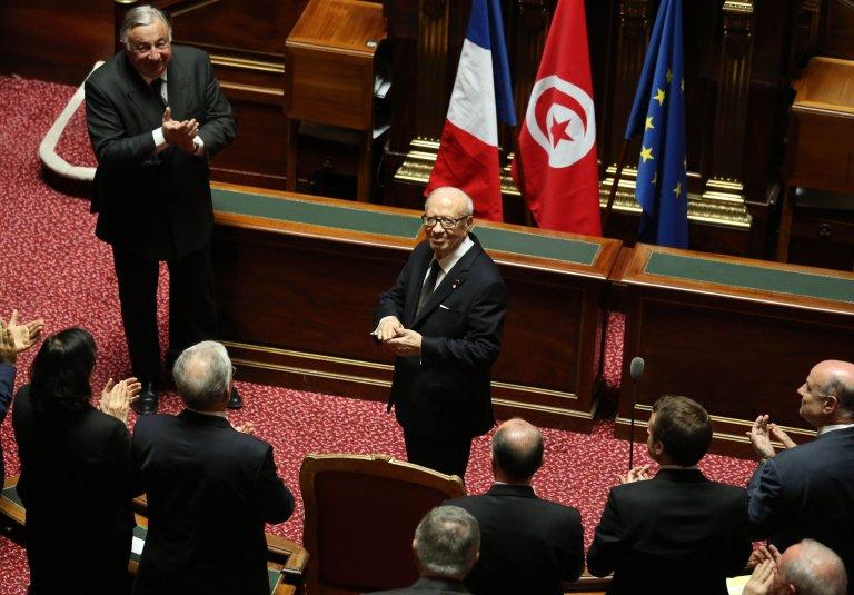 Quand Essebsi était l'invité du «plus grand cabaret du monde»