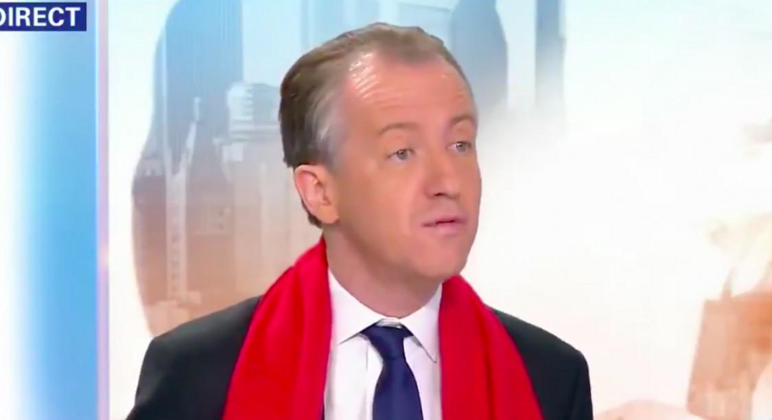 Christophe Barbier © Capture d'écran BFMTV