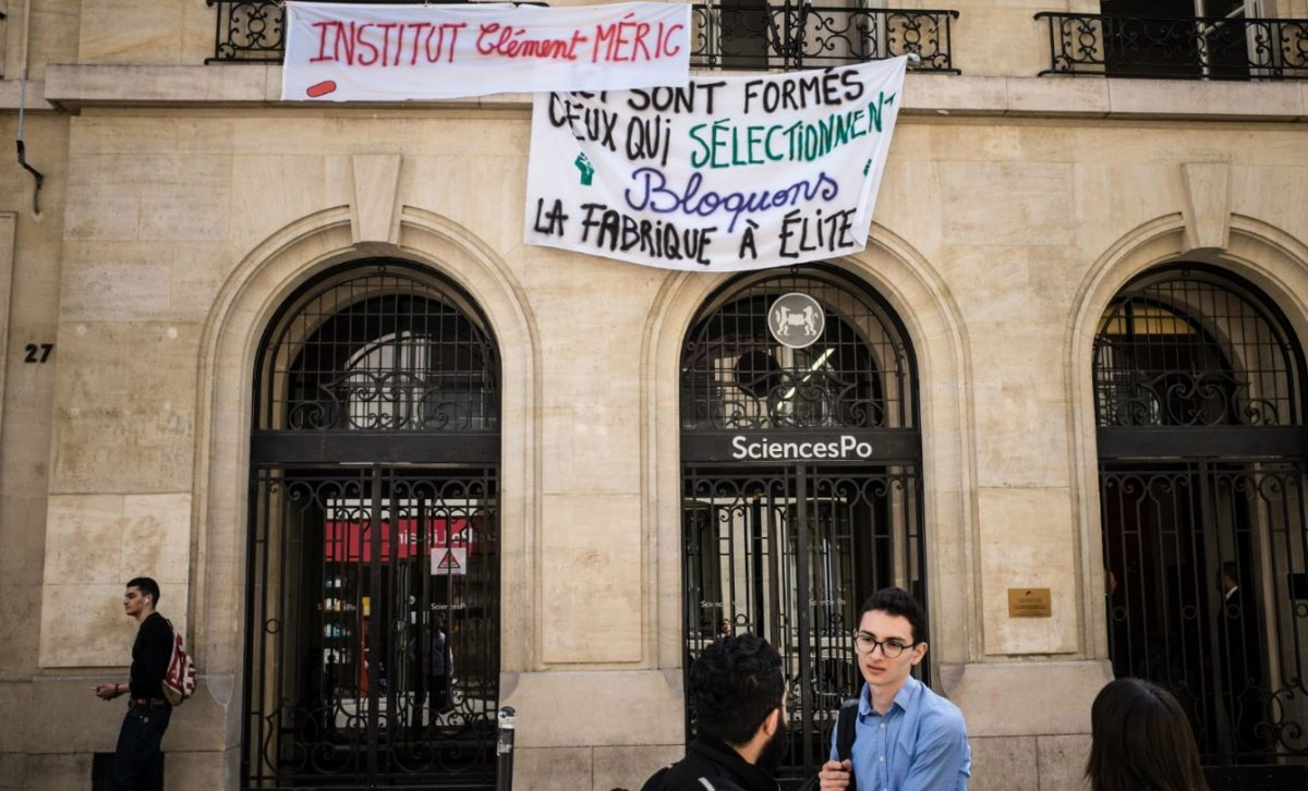 sciences po emmanuel macron