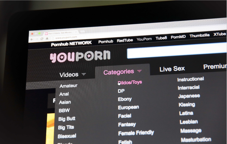Illustration du site internet Youporn