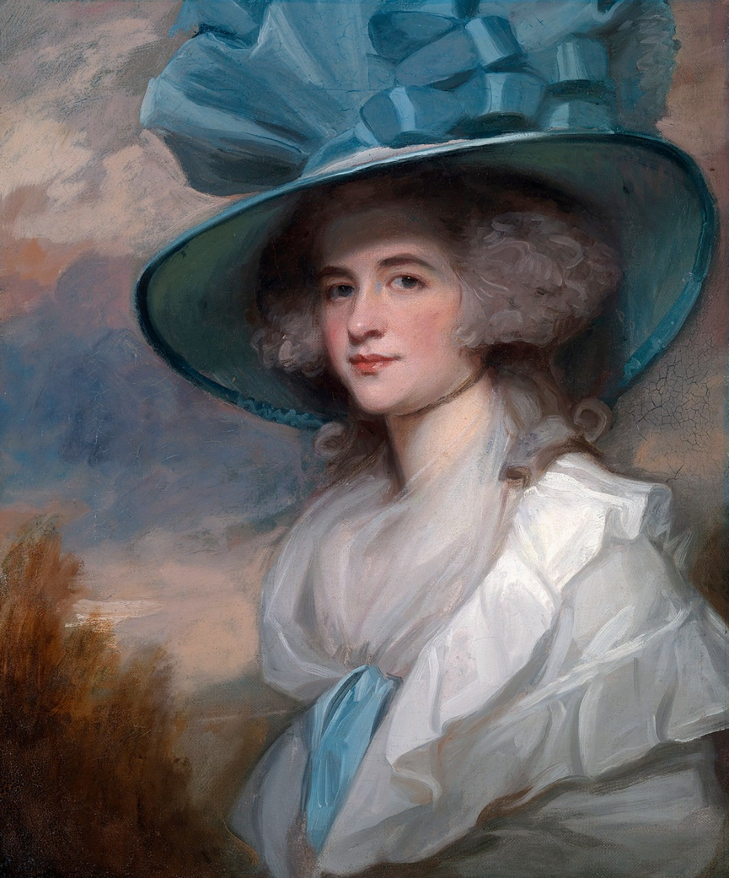"""Mrs Robert Trotter of Bush,"" George Romney 1788-1789"