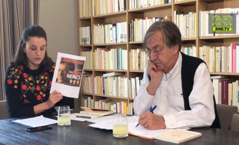 """Les listes maniaques de """"néo-réacs"""" amusent A. Finkielkraut"""