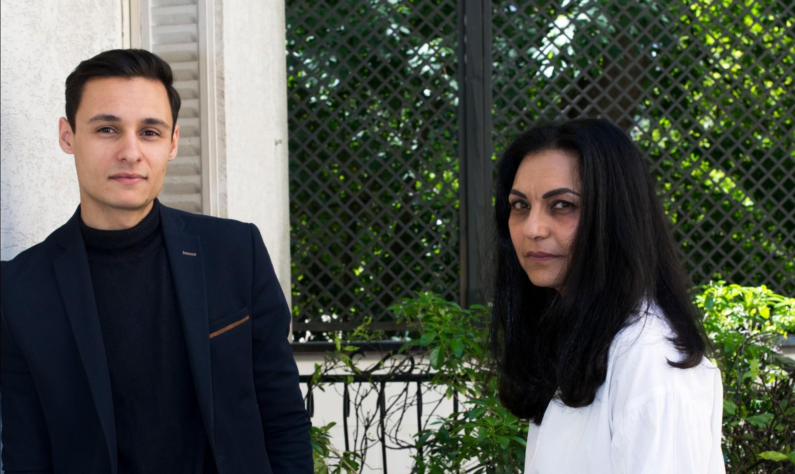 Ayyam Sureau et Montasser Idhhiba, chef de cuisine Hannah ASSOULINE