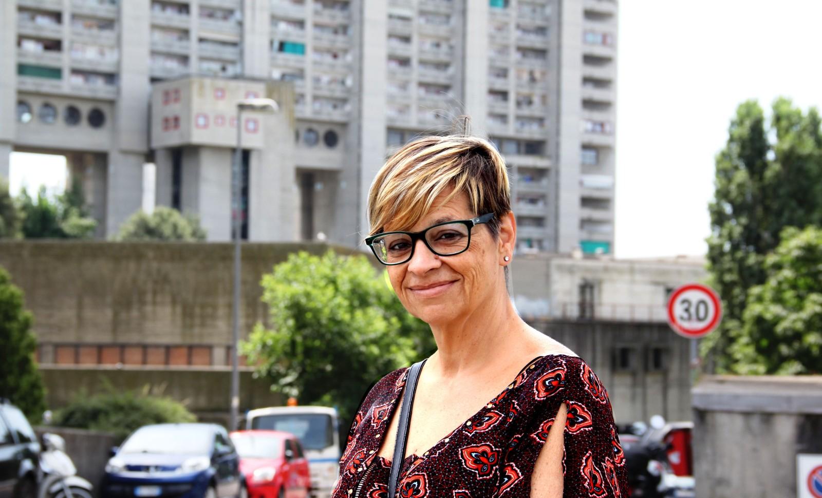 Katia, présidente de l'association Melara, juillet 2019 © Emma Rebato