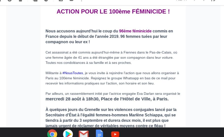 mailing-feminicide