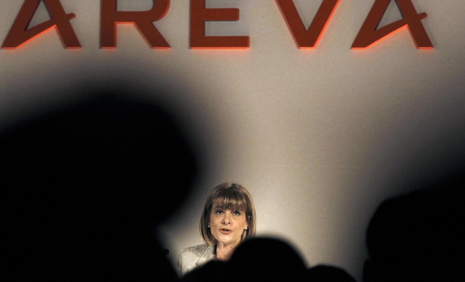 Anne Lauvergeon, ex-présidente d'Areva, mars 2010 © JOEL SAGET/AFP