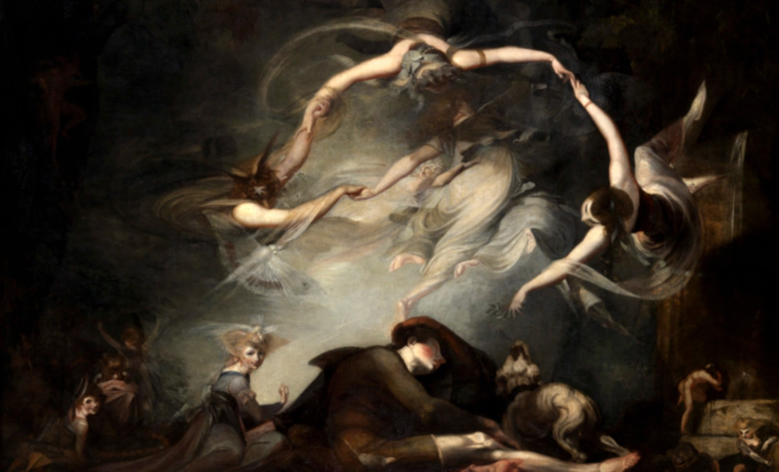 The Shepherd's Dream, Johann Heinrich Fussli (Henri Fuseli en anglais), 1793 © Tate, London 2019/RMN-GP
