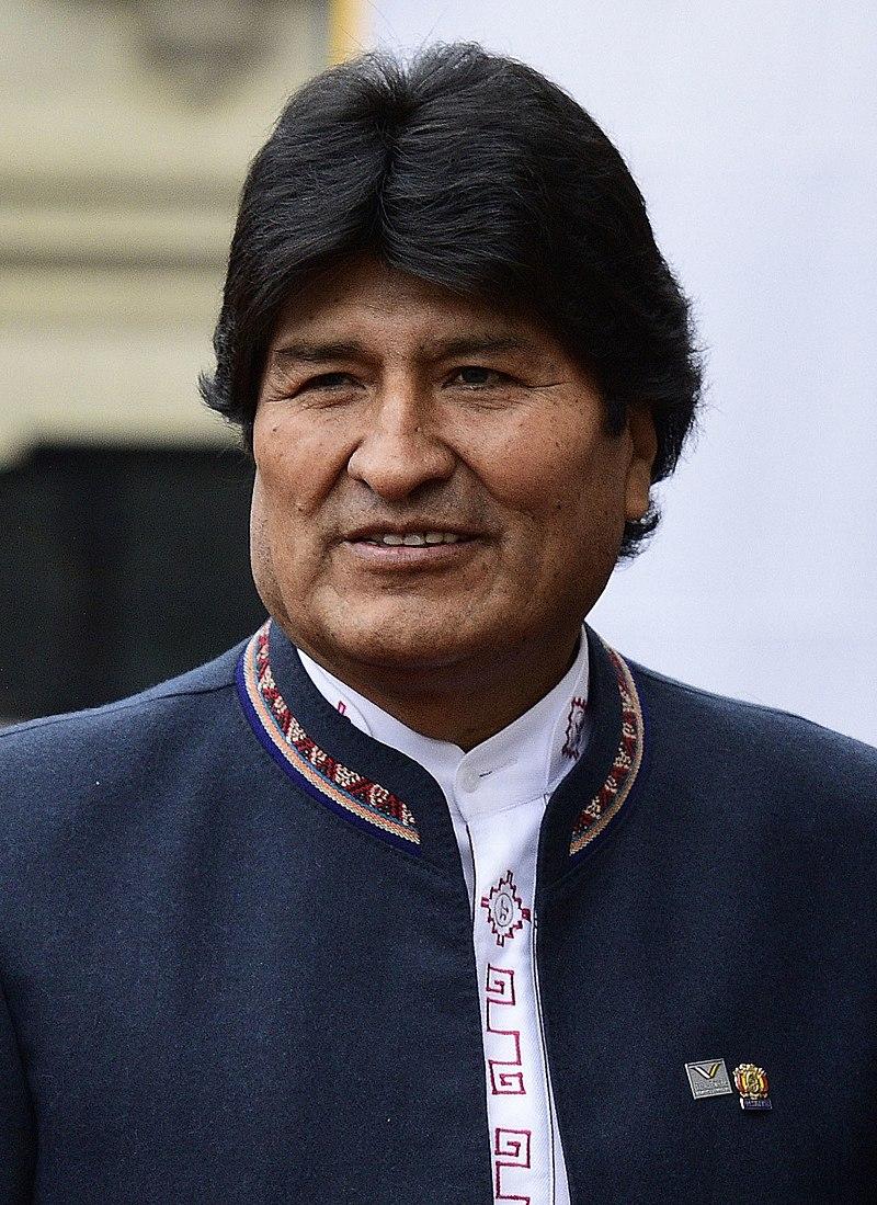 Le Président bolivien Evo Morales en 2017. Photo: D.R.
