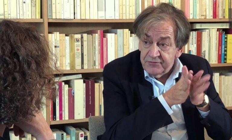 """Alain Finkielkraut se réjouit de l'accueil réservé à """"A la première personne"""""""