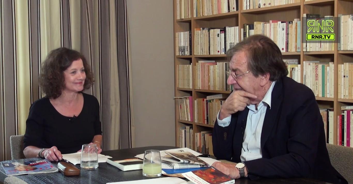 Elisabeth Lévy et Alain Finkielkraut dans l'Esprit de l'escalier sur RNR.tv