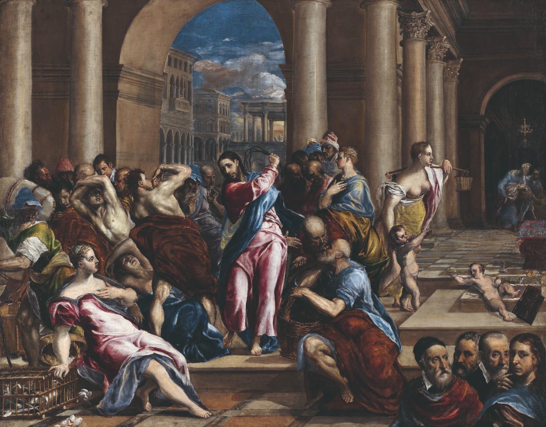 GRECO, Le Christ chassant les marchands du Temple © The Minneapolis Institute of Arts