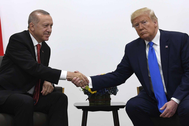 trump erdogan turquie syrie